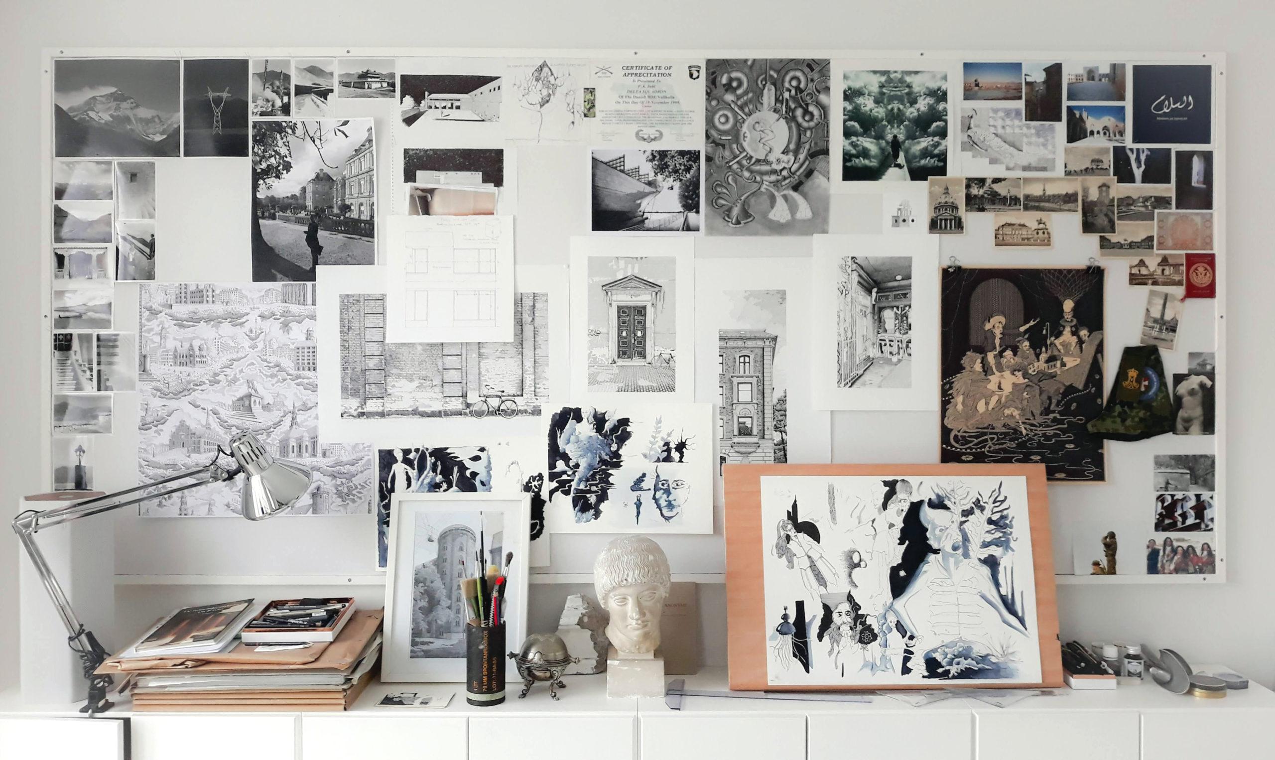 Atelieret er flyttet til Nørrebro
